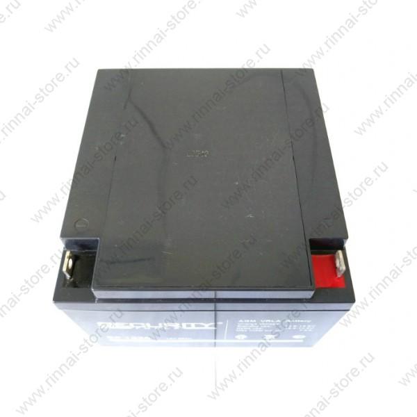 Аккумуляторная батарея на 26 Ач для ИБП Teplocom-250+