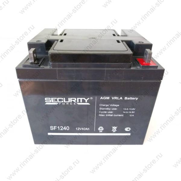 Аккумуляторная батарея на 40 Ач для ИБП Teplocom-250+