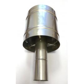 Дефлектор вертикального дымохода D 75мм | 498900073