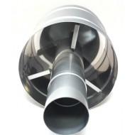 Дефлектор вертикального дымохода D 75мм