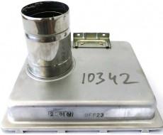 Патрубок выхлопа отработанных газов (25)  в сборе EXHAUST DUCT ASS'Y | 440010342