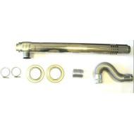 Дымоход коаксиальный EMF | RMF | 1000 мм | STRIGHT S-type